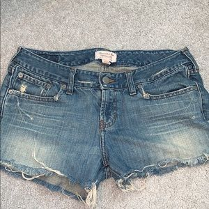 Abercrombie and Finch Jean shorts